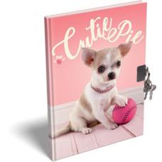 Emlékkönyv L-C Kemény Táblás A/5 Pet Cutie Pie