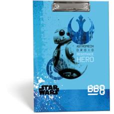 Felírótábla A/4 L-C Mintás Star Wars 8 BB-8