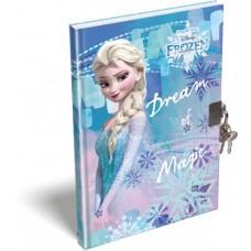 Emlékkönyv L-C Kemény Táblás A/5 Frozen Magic
