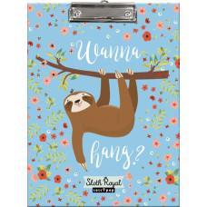 Felírótábla A/4 L-C Mintás Lollipop Sloth Royal
