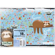 Füzetborító A/5 L-C 19 Lollipop Sloth Royal 10db/csomag