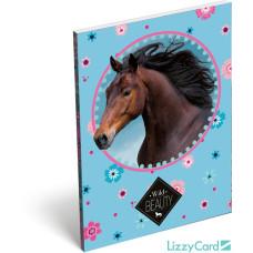 Notesz L-C Papírfedelű A/7 Wild Beauty Brown 10db/csomag