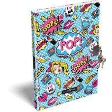Emlékkönyv L-C Kemény Táblás A/5 21 Lollipop Pop