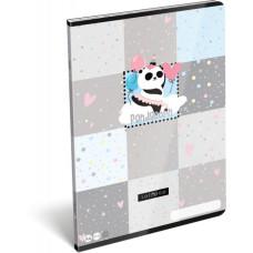 Füzet (A/4 L-C 21 87-32 Lollipop Pandacorn) 10db/csomag