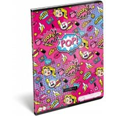 Füzet (A/4 L-C 21 87-32 Lollipop Pop) 10db/csomag