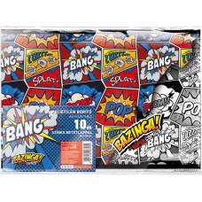 Füzetborító A/5 L-C 21 Supercomics Bazinga 10db/csomag