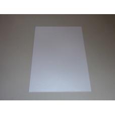Névjegykarton (A/4 Galaxia Fehér) 250gr 20 ív/csomag