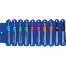 Körző Pax Eco Műanyag Tokos Színes