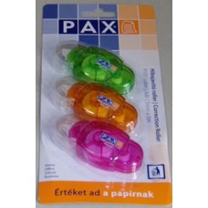 Hibajavító (Roller Pax R101 2+1 Szines) 5m*5mm 12bl/doboz