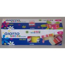 Akrilfesték12 Klt 12*25ml Giotto