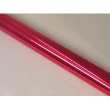 Díszcsomagoló Tekercses Metál/Piros 70*100/10 Db