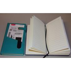 Notesz A40-925 Műbőr Zöld Mágneszárral+Telefontartóval 11,5*19,5cm