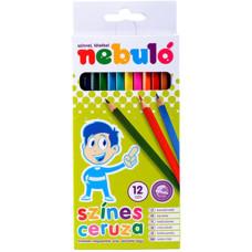 Ceruza (Színes Nebuló/12 Hatszög) 12klt/doboz