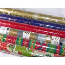 Díszcsomagoló Tekercses Karácsonyi 200*70cm Lios 60db/doboz