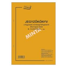 B.13-233/2014 jegyzőkönyv a Fogyasztó Minőségi Kifogásáról A/4