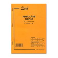 B.C.3410-5 Ambuláns Napló