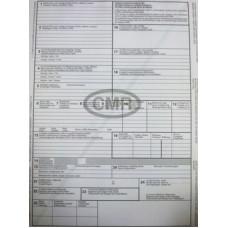 B.E.10/6 Cmr Nyomell Nemzetközi Fuvarlevél 6 Pld. 100db/csomag