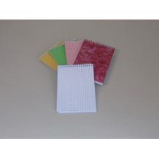 Jegyzet (College A/6 Spirál Kockás) 10db/csomag