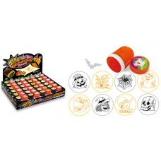 Nyomda Rfeln317 Halloween Henger 30*43mm 8 Minta 48db/doboz