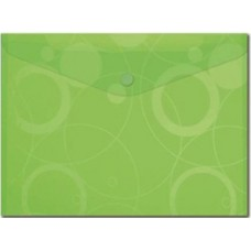 Boríték Pvc Neo Colori A/4 Patentos Zöld