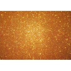 Dekorgumi A/4 Csillámos 2mm 10db/csomag Arany
