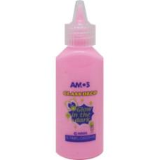 Üvegmatrica Festék Amos 22ml Fluor Pink