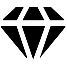 Formalyukasztó 25mm Gyémánt