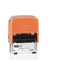 Bélyegzőház C-20 Colop Narancs- Átlátszó