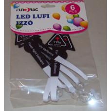 Led Gömb Lufiba Fehér 6db/csomag