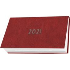 Naptár Zseb T-Calendar Nebraska Fekvő Heti Piros