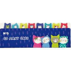 Jegyzet (Oldaljelölő M&G YD-945 So Many Cats) 60csomag/doboz