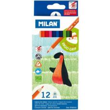 Ceruza (Színes Milán/12 231 Háromszög) 12 csomag/gyűjtő