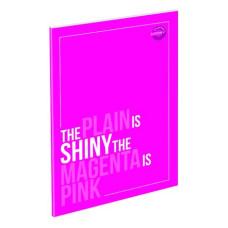 Emlékkönyv T-Creativ A/5 Plain Lakatos Kemény Fedelű Magenta Pink