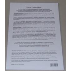 B.A.Erdő.233 Tüzifa Vásárlói Tájékoztató 50 Lapos B/5 Tömb