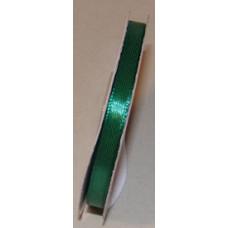 Szatén Szalag  6mm/25y Színes 625 Sötét Zöld