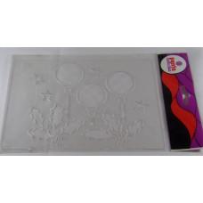 Sablon Stencil Műanyag K9 Kari Gömbök