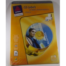 Etikett Avery L6043-20 Cd Cimke