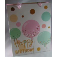 Dísztasak Happy Birthday ZD-856M 12db/csomag