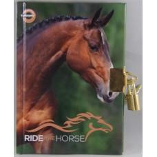 Emlékkönyv T-Creativ A/6 Lakatos Kemény Fedelű Ride The Horse