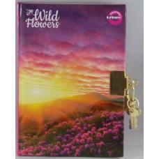 Emlékkönyv T-Creativ A/6 Lakatos Kemény Fedelű Wild Flowers