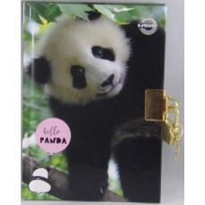 Emlékkönyv T-Creativ A/6 Lakatos Kemény Fedelű Hello Panda