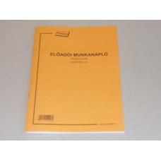 B.C.5230-315 Előadói Munkanapló A/4