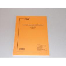 B.D.Aköv 7 Kútkönyv A/4 50*2