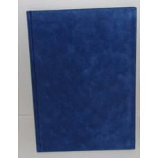 Vendégkönyv A/4 U.Plüss Felirat Nélküli Kék