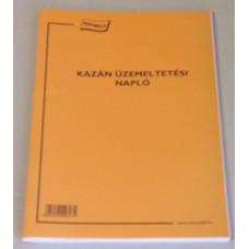 B.K.Kazán Üzemeltetési Napló