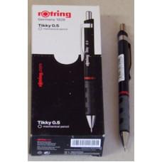 Ceruza (0,5 Rotring Tikky III Fekete) 12db/doboz