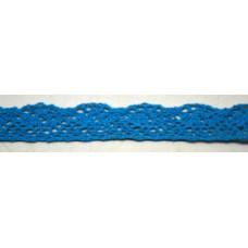Ü.Csipke Pamut Világos Kék 18,29méter