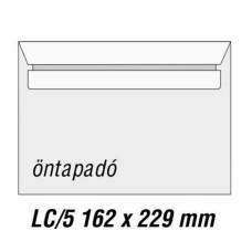Boríték (Bluering Lc/5 Öntap Bélésnyomatlan) 500db/doboz