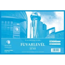 B.D.17/V Fuvarlevél Silver