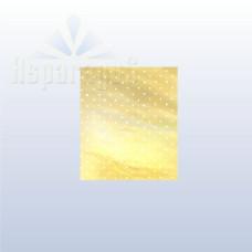 Celofán Tasak Asparagus Metál 25*35 Arany-Fehér Pöttyös 50db/csomag